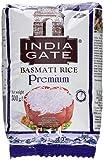 INDIA GATE Premium Basmati Rice (aus Indien, feines Langkorn) aromatisch, 1er Pack (1 x 500g)